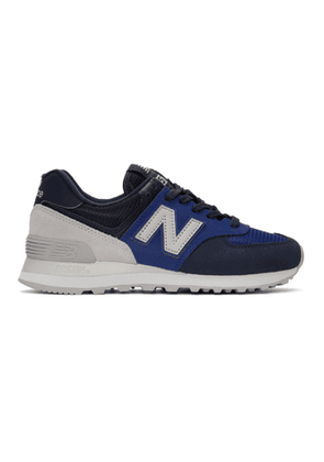 New Balance Blue and Navy 574 Core Sneakers
