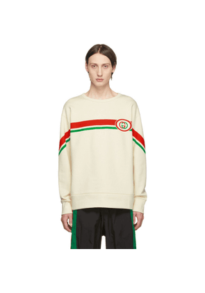 Gucci Off-White Interlocking G Sweatshirt