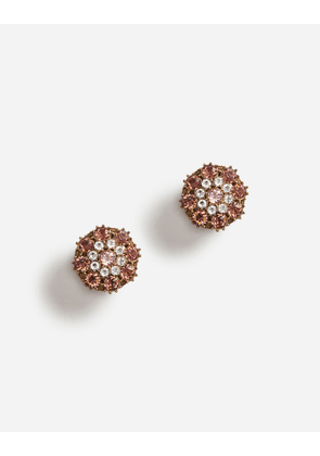 Dolce & Gabbana Bijoux - CLIP-ON RHINESTONE EARRINGS GOLD