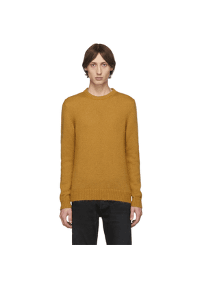 Eidos Orange Mohair Lofty Sweater
