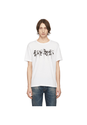Saint Laurent White Palm T-Shirt
