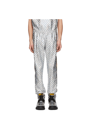 Gucci Black and Silver GG Printed Lounge Pants