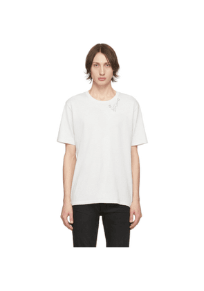 Saint Laurent Off-White Guitar Print T-Shirt