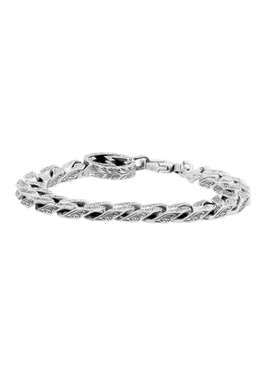Gucci Silver Interlocking G Chain Bracelet