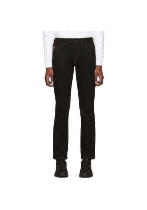Fendi Black Forever Fendi Small Karl Jeans