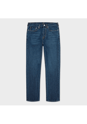 Men's Classic-Fit 'Organic Salt & Pepper' Mid-Wash Jeans