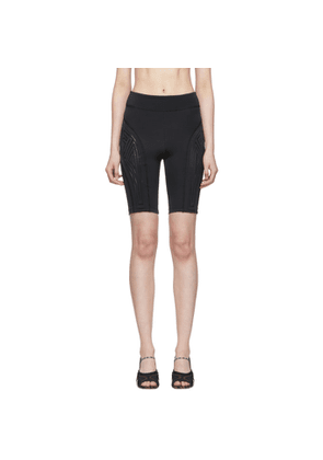 Fendi Black Cyclist Shorts