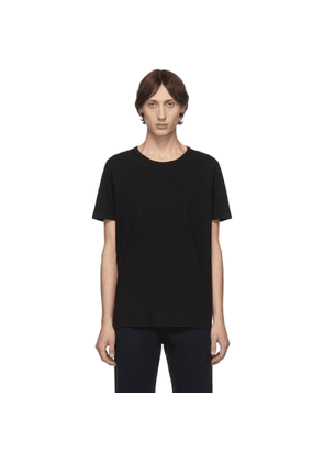 Eidos Black Chain Shoulder Detail T-Shirt