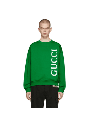 Gucci Green Logo Sweatshirt