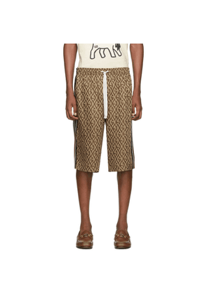 Gucci Brown G Rhombus Shorts