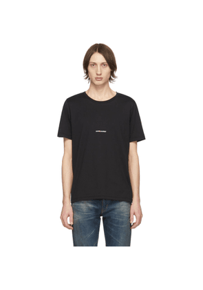 Saint Laurent Black Logo T-Shirt
