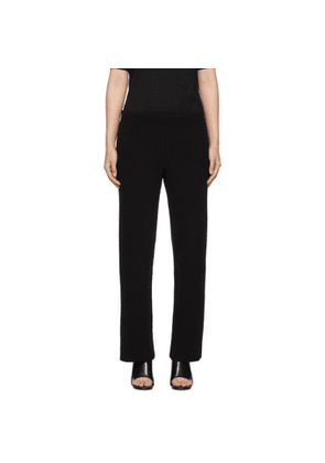 Balenciaga Black Wool and Cashmere Lounge Pants