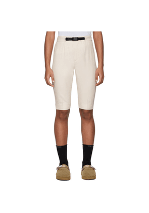 John Elliott Off-White Bermuda Shorts