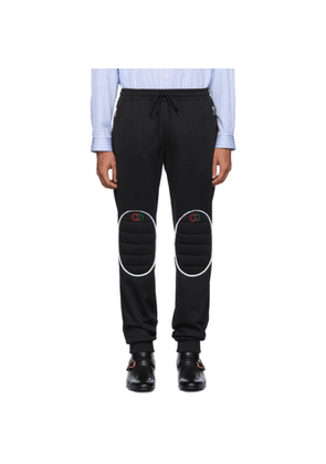Gucci Black Jersey Loose Jogging Lounge Pants