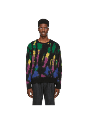 Dsquared2 Multicolor Tie-Dye Sweater