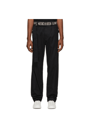Diesel Black P-Toshi Trousers