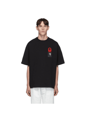 Lanvin Black Patches T-Shirt