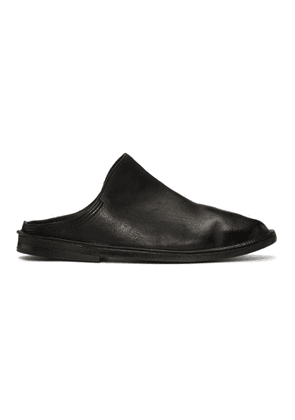 Eckhaus Latta Black Marsell Edition Tost Loafers
