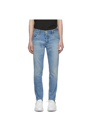 Dsquared2 Blue Skater Light Dusty Jeans