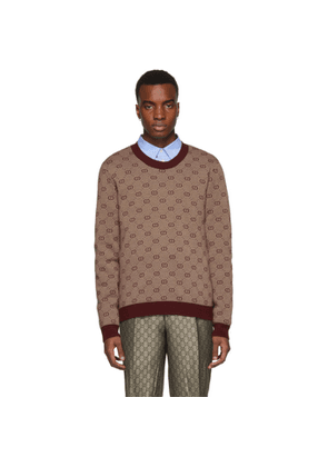 Gucci Red GG Sweater