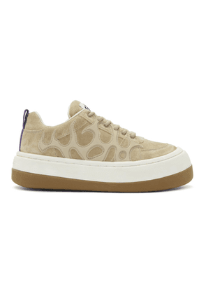 Eytys SSENSE Exclusive Brown Suede Sonic Sneakers