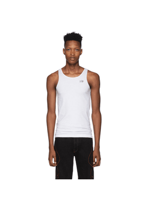 Eytys White Toni Tank Top