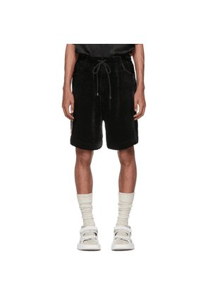 Gucci Black Velvet Shorts