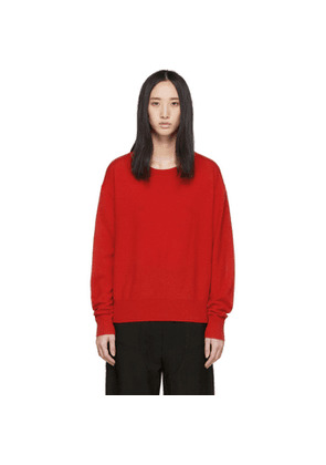 Christopher Esber Red Negative Space Sweater