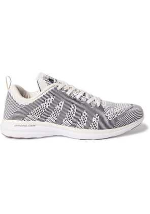 APL Athletic Propulsion Labs - Techloom Pro Running Sneakers - Gray