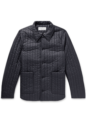 Officine Generale - Theo Quilted Shell Jacket - Midnight blue