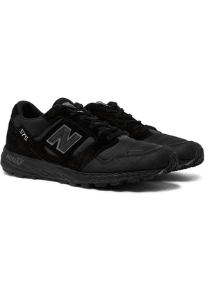 New Balance - Mtl575 Suede And Mesh Sneakers - Black