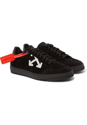 Off-White - 2.0 Suede Sneakers - Black