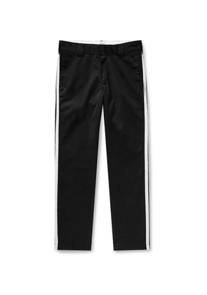 Carhartt WIP - + Motown Records Tapered Striped Twill Trousers - Black