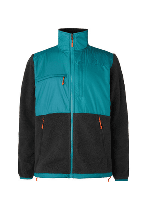 The North Face - Denali Panelled Fleece And Shell Jacket - Blue