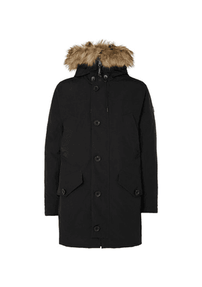 Polo Ralph Lauren - Faux Fur-trimmed Shell Hooded Down Parka - Black