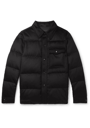TOM FORD - Slim-fit Quilted Cashmere Jacket - Black