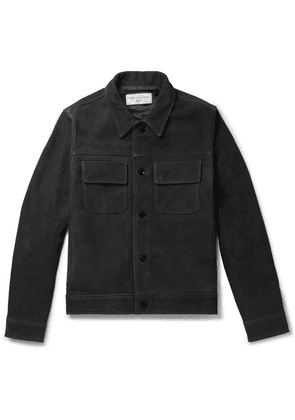 Officine Generale - Otto Suede Jacket - Gray