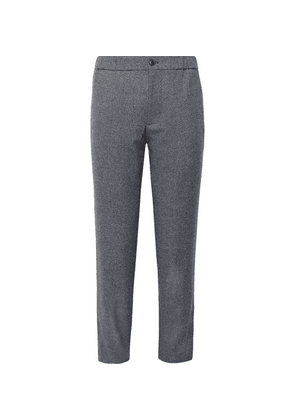 Club Monaco - Lex Tapered Donegal Tweed Trousers - Gray