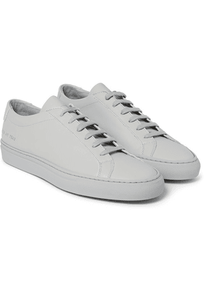 Common Projects - Original Achilles Leather Sneakers - Light gray