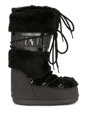 Moon Boot lace up moon boots - Black