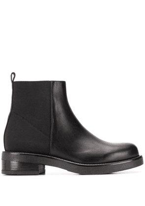 Albano pull-on ankle boots - Black