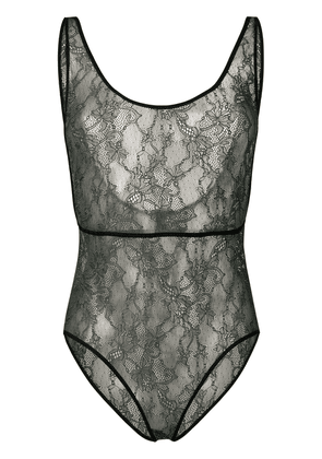 Roseanna lace bodysuit - Green
