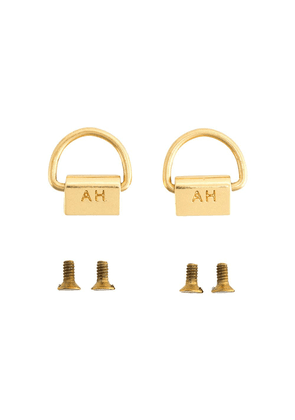 Anya Hindmarch phone case D-rings - GOLD