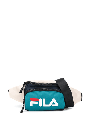Fila logo colour-block belt bag - NEUTRALS