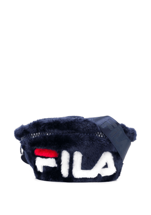 Fila logo colour-block belt bag - Blue