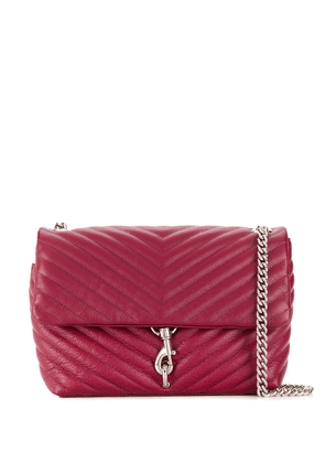 Rebecca Minkoff Edie quilted crossbody bag - Red