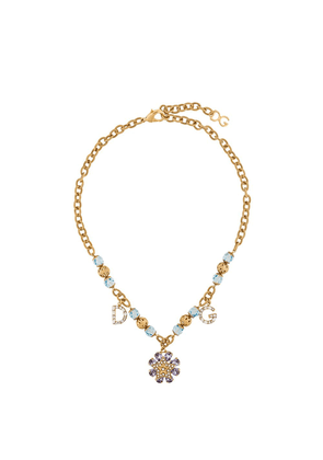 Dolce & Gabbana charm necklace - Metallic