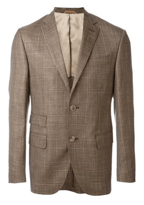 Fashion Clinic Timeless checked blazer - Brown