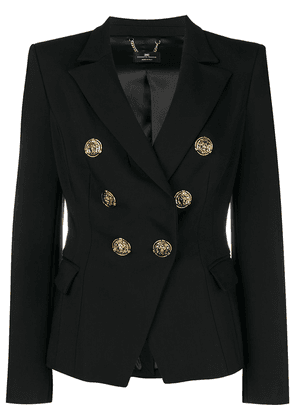 Elisabetta Franchi double breasted blazer - Black