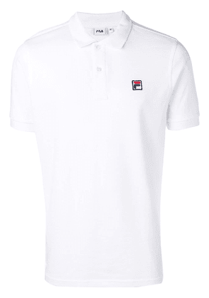 Fila embroidered logo polo shirt - White
